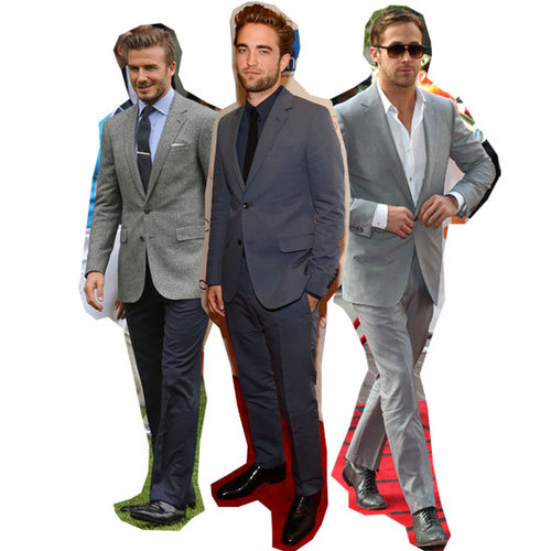 Five Style Suiting Ideas for Men at the 2012 Spring Racing Carival: We're Taking Cues from Ryan Gosling, Robert Patinson + more