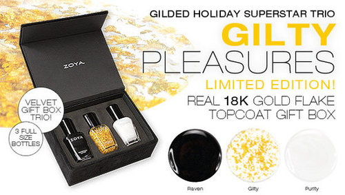 Zoya's Gilty Collection, 18K Gold Top Coat