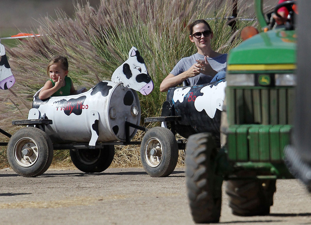 Jennifer Garner and Seraphina enjoyed a day together in LA.