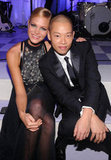 Erin Heatherton and Jason Wu looking like quite the adorable duo.