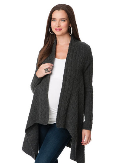 A Pea in the Pod Cascade Maternity Sweater