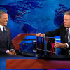 Barack Obama on The Daily Show With Jon Stewart