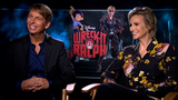Jack McBrayer and Jane Lynch