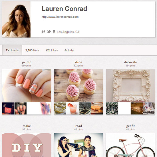 Lauren Conrad on Pinterest