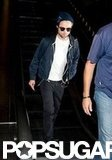 Robert Pattinson took off from LAX.