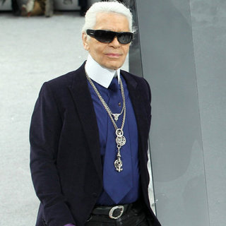 Karl Lagerfeld Didn't Call Francois Hollande an Idiot