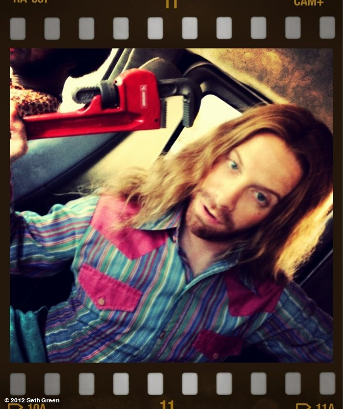Seth Green got into character for the film The Identical. Source: Seth Green on WhoSay
