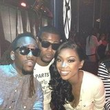Brandy hit the club with some friends. Source: Instagram user 4everbrandy