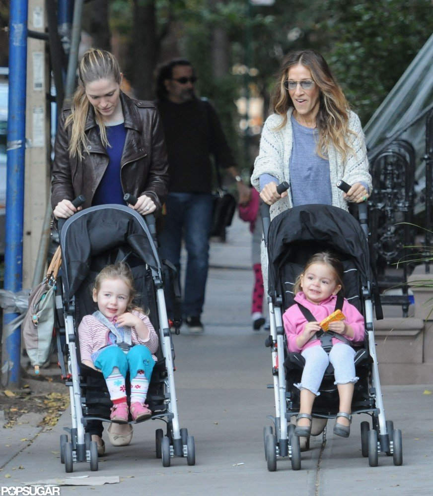 SJP Mixes Up Her Morning With James Wilkie and the Twins