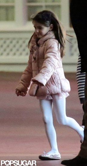 Suri Cruise spent some time with Katie Holmes in NYC.