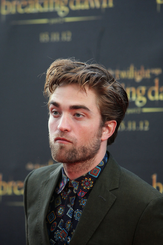 Robert Patinson promoted Breaking Dawn Part 2 in Sydney.