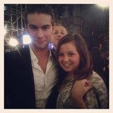 Chace Crawford wore a suit to the party.  Source: Facebook user Chace Crawford