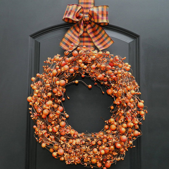 A Berry Happy Halloween Wreath