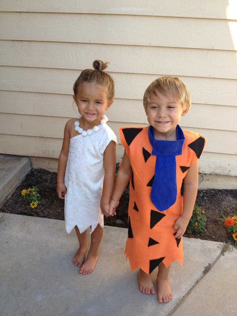 Fred and Wilma Flintstone