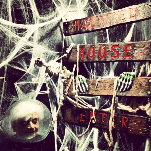Get Spooked at a Haunted House