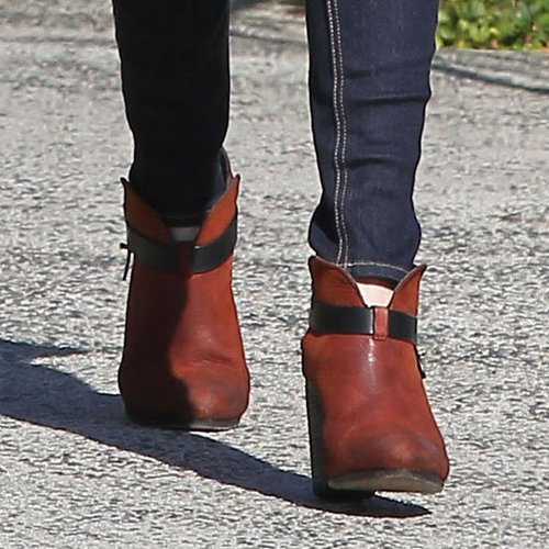 Rag and Bone Harrow Ankle Boots (Celebrity Pictures)