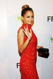 Nicole Richie carried a small clutch on the red carpet.