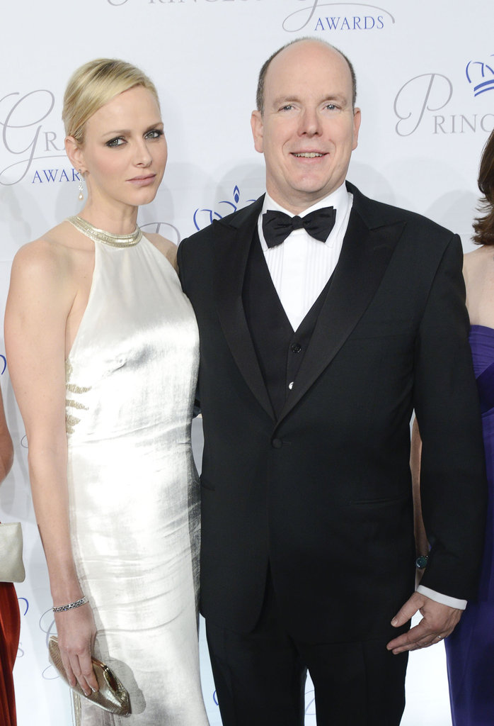 Princess Charlene and Prince Albert II of Monaco posed for photos in New York City.