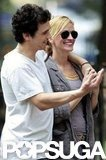 Julia Roberts joked around with James Franco on the NYC set of Eat, Pray, Love in 2009.