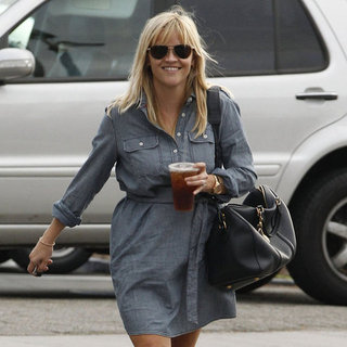 Reese Witherspoon in LA With Daughter Ava