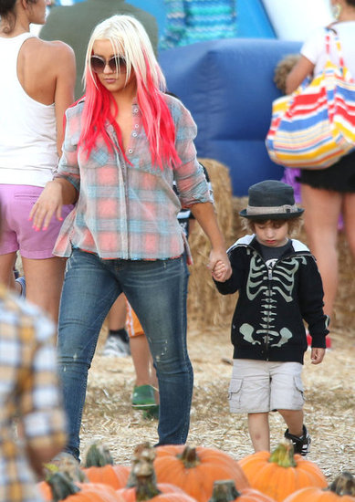 Christina Aguilera and Max