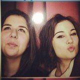 Shiane Hawke and Bella Ferraro had some photo booth fun. Source: Instagram user isabella_ferraro