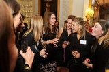 Kate Middleton got together with members of Team GB and Olympic  medalists in London.