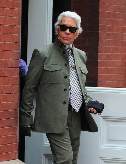 Karl Lagerfeld in New York City
