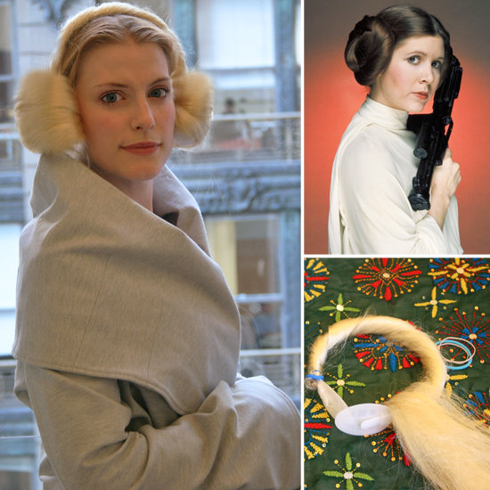 DIY Princess Leia Buns