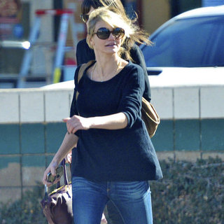 Cameron Diaz Getting Lunch With Friends in LA