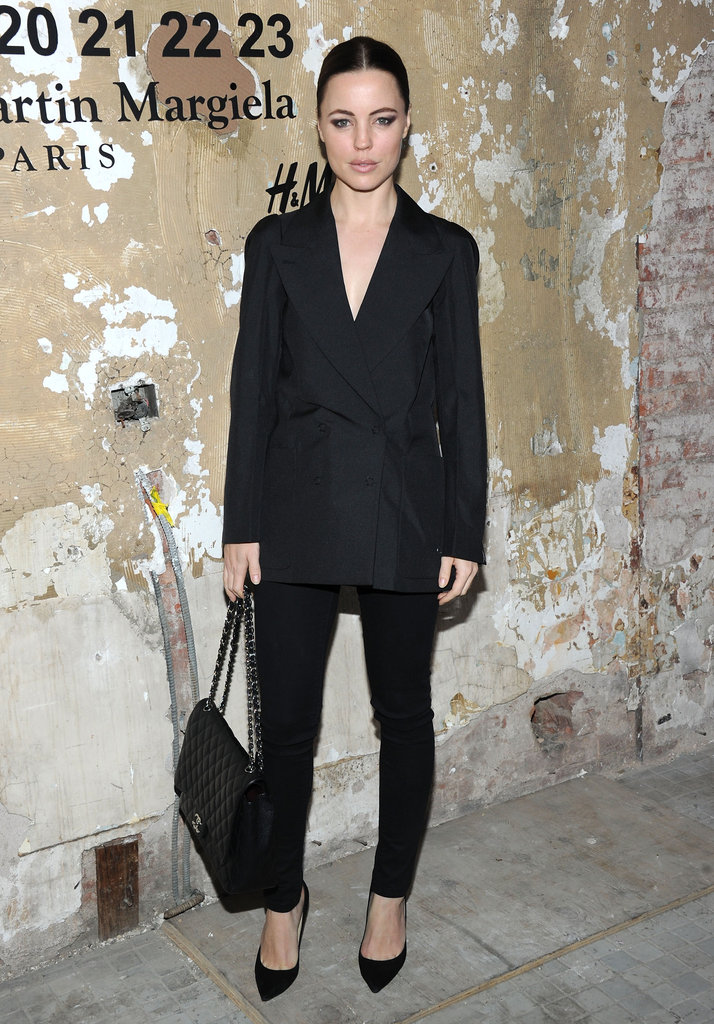 Melissa George attended the launch of Maison Martin Margiela for H&M in NYC.