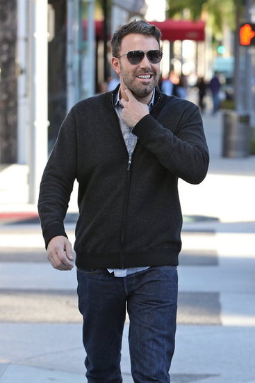 Ben Affleck flashed a smile.