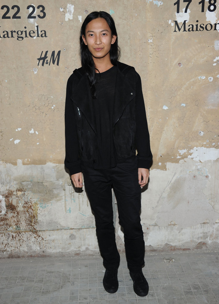 Alexander Wang attended the launch of Maison Martin Margiela for H&M in NYC.