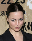 Melissa George wore black for the NYC event.