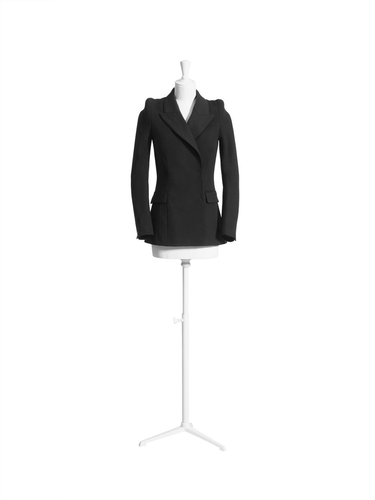 Narrow shoulder jacket ($99)