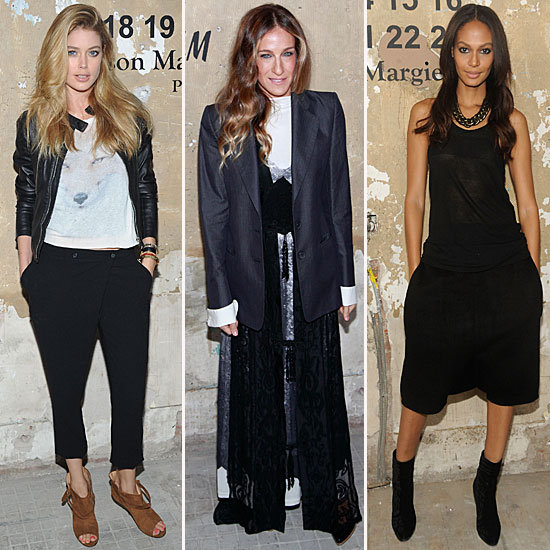 SJP, Doutzen, and Even Kanye Celebrate (and Model) Margiela For H&M