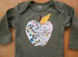 Littles Children's Clothing Apple Onesie