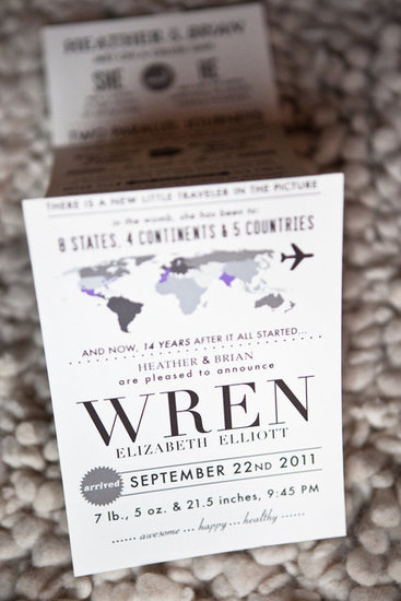 Wren's Birth Announcement