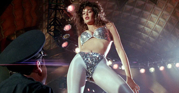 "Teri Hatcher as Katherine ""Kiki"" Tango in Tango & Cash, 1989"