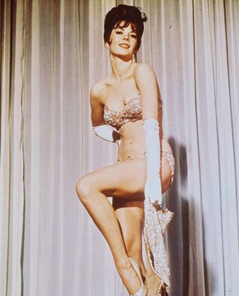 Natalie Wood as Gypsy Rose Lee in Gypsy, 1962