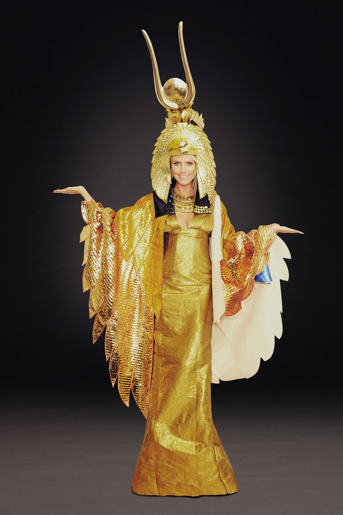 Heidi Klum planned to be Cleopatra for last year's Halloween bash.