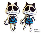 Skeleton Cats Sewing Pattern PDF