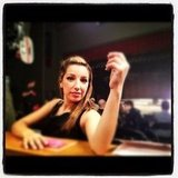 Glee's Darren Criss took a pic of Vanessa Lengies. Source: Instagram user darrencriss