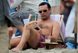 Jon Hamm was in Maui.