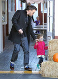 Jennifer Garner and Ben Affleck Share a Happy Breakfast With Seraphina