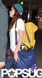 Kristen Stewart traveled out of the airport in Tokyo.