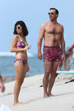 Jon Hamm and Jessica Paré were in Maui to film Mad Men.