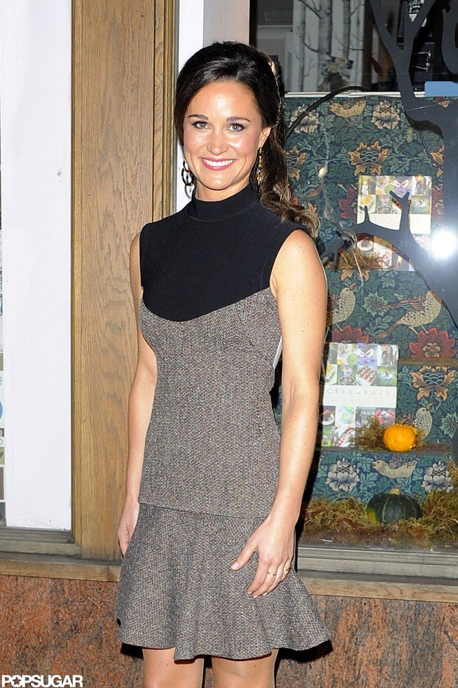 Pippa Middleton stepped out for the launch party for Celebrate in London.