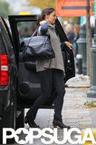 Katie Holmes carried her bag.