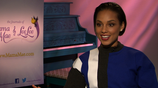 "Video: Alicia Keys Says ""You Know You're a Mom When . . . """